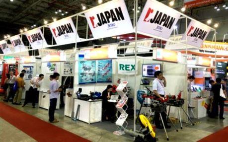Doanh nghiệp Nhật Bản quan tâm thị trường mày móc thiết bị Việt Nam.